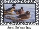 Indoor & Outdoor Wood Duck MatMate Insert Doormat-18x30