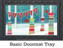 Indoor & Outdoor Yarn Bomb MatMates Doormat - 18 x 30
