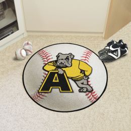 Adrian College Ball Shaped Area Rugs (Ball Shaped Area Rugs: Baseball)