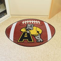 Adrian College Ball Shaped Area Rugs (Ball Shaped Area Rugs: Football)
