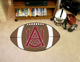 Alabama A&M University Ball-Shaped Area Rugs (Ball Shaped Area Rugs: Football)