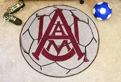 Alabama A&M University Ball-Shaped Area Rugs (Ball Shaped Area Rugs: Soccer Ball)