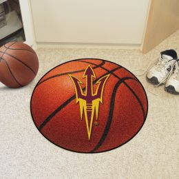 Arizona State University Ball Shaped Area Rugs (Ball Shaped Area Rugs: Basketball)