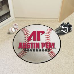 Austin Peay State University Ball-Shaped Area Rugs (Ball Shaped Area Rugs: Baseball)