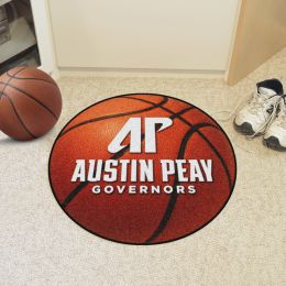 Austin Peay State University Ball-Shaped Area Rugs (Ball Shaped Area Rugs: Basketball)