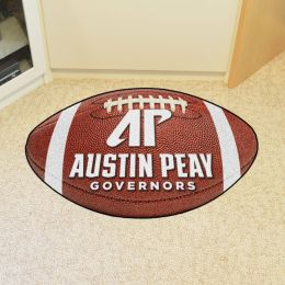 Austin Peay State University Ball-Shaped Area Rugs (Ball Shaped Area Rugs: Football)