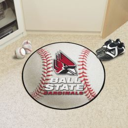 Ball State University Ball Shaped Area Rugs (Ball Shaped Area Rugs: Baseball)