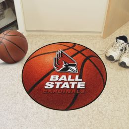 Ball State University Ball Shaped Area Rugs (Ball Shaped Area Rugs: Basketball)