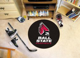 Ball State University Ball Shaped Area Rugs (Ball Shaped Area Rugs: Hockey Puck)