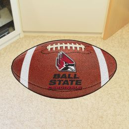 Ball State University Ball Shaped Area Rugs (Ball Shaped Area Rugs: Football)