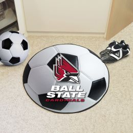Ball State University Ball Shaped Area Rugs (Ball Shaped Area Rugs: Soccer Ball)