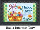 Indoor & Outdoor Basket for the Bunny MatMates Doormat