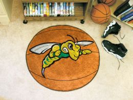 Black Hills State University Area Rugs - Nylon Ball Shaped (Ball Shaped Area Rugs: Basketball)