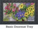 Indoor & Outdoor Blossom Buckets MatMates Doormat
