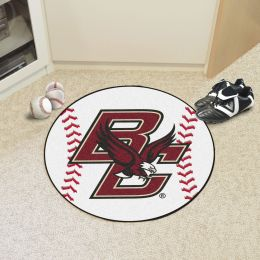 Boston College Ball-Shaped Area Rugs (Ball Shaped Area Rugs: Baseball)