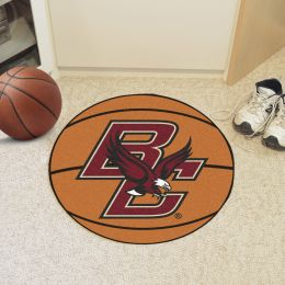 Boston College Ball-Shaped Area Rugs (Ball Shaped Area Rugs: Basketball)