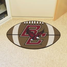 Boston College Ball-Shaped Area Rugs (Ball Shaped Area Rugs: Football)