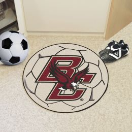 Boston College Ball-Shaped Area Rugs (Ball Shaped Area Rugs: Soccer Ball)