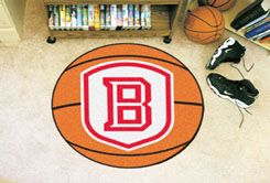Bradley University Braves Ball-Shaped Area (Ball Shaped Area Rugs: Basketball)