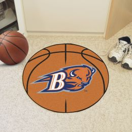 Bucknell University Bisons Ball Shaped Area Rugs (Ball Shaped Area Rugs: Basketball)
