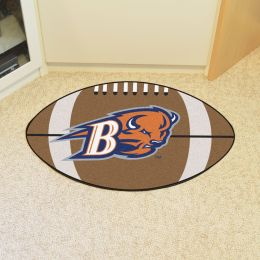 Bucknell University Bisons Ball Shaped Area Rugs (Ball Shaped Area Rugs: Football)