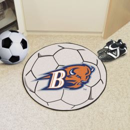 Bucknell University Bisons Ball Shaped Area Rugs (Ball Shaped Area Rugs: Soccer Ball)