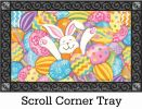 Indoor & Outdoor MatMates Doormat - Bunny Eggs