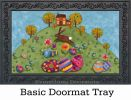 Indoor & Outdoor Busy Bunny MatMates Doormat - 18 x 30