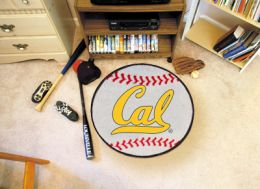 California UC Berkeley Ball-Shaped Area Rugs (Ball Shaped Area Rugs: Baseball)