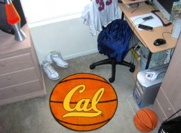 California UC Berkeley Ball-Shaped Area Rugs (Ball Shaped Area Rugs: Basketball)
