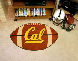 California UC Berkeley Ball-Shaped Area Rugs (Ball Shaped Area Rugs: Football)
