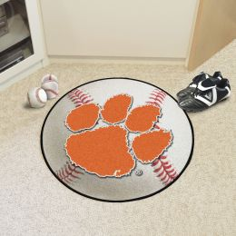 Clemson University Ball Shaped Area Rugs (Ball Shaped Area Rugs: Baseball)
