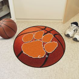 Clemson University Ball Shaped Area Rugs (Ball Shaped Area Rugs: Basketball)