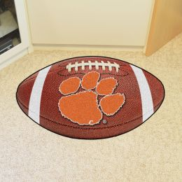 Clemson University Ball Shaped Area Rugs (Ball Shaped Area Rugs: Football)