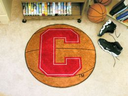 Cornell University Ball Shaped Area Rugs (Ball Shaped Area Rugs: Basketball)