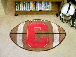 Cornell University Ball Shaped Area Rugs (Ball Shaped Area Rugs: Football)