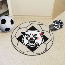 Davidson College Wildcats Ball Shaped Area Rugs (Ball Shaped Area Rugs: Soccer Ball)