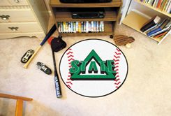 Delta State University Area Rugs - Nylon Ball Shaped (Ball Shaped Area Rugs: Baseball)