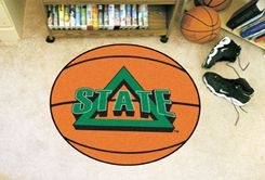 Delta State University Area Rugs - Nylon Ball Shaped (Ball Shaped Area Rugs: Basketball)