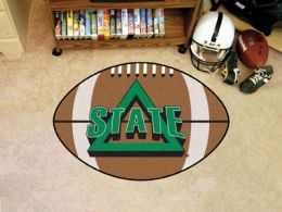 Delta State University Area Rugs - Nylon Ball Shaped (Ball Shaped Area Rugs: Football)