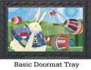 Indoor & Outdoor Funny Bunny MatMates Doormat - 18 x 30