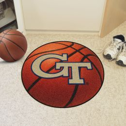 Georgia Tech Ball Shaped Area Rugs (Ball Shaped Area Rugs: Basketball)