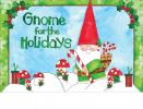 Indoor & Outdoor Gnome for the Holidays MatMates Doormat
