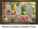 Indoor & Outdoor Goldfinches & Coneflowers MatMates Doormat