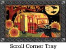 Indoor & Outdoor Halloween Campers MatMates Doormat