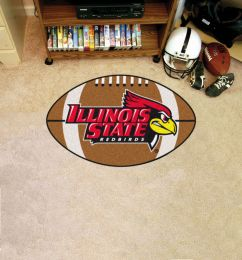 Illinois State University Ball-Shaped Area Rugs (Ball Shaped Area Rugs: Football)