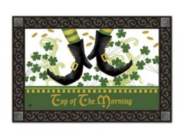 Indoor & Outdoor MatMates Doormat - Irish Jig (Doormat or Flag: Doormat)
