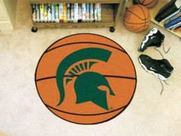 Michigan State University Ball Shaped Area Rugs (Ball Shaped Area Rugs: Basketball)
