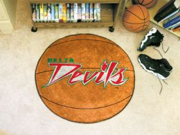 Mississippi Valley State University Ball Shaped Area Rugs (Ball Shaped Area Rugs: Basketball)