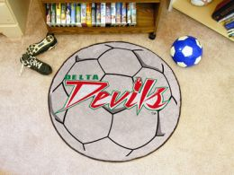 Mississippi Valley State University Ball Shaped Area Rugs (Ball Shaped Area Rugs: Soccer Ball)